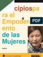 Eq 2 Principios Empoderamiento Mujeres
