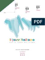 Programma #jazz4italy 2017