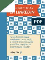 Cómo Reclutar en Linkedin Talent Clue