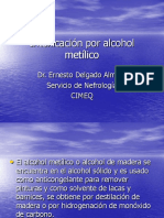 Intoxicacion Por Alcohol Metilico
