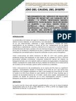 diseño hidrulico canales la rincona-sechura -piura