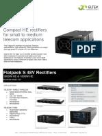 Datasheet Flatpack S 48V Rectifiers.pdf