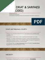 DRT, DRAT & SARFAESI ACT(2002.pptx