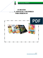 10 Recetas Para Diabeticos
