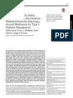 Second Line Medication in T2DM