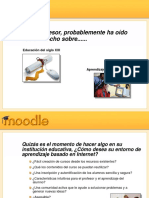 Presentation Moodle