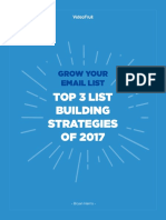 Grow Your Email List 2017