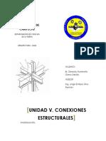 UNIDAD 5. CONEXIONES ESTRUCTURALES