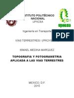Topografia y Fotogrametria