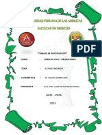Trabajo de Obligaciones d. Civil