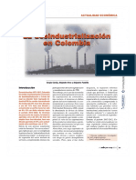 Revistero Virtual - Carta Financiera - Edición 159 (Desindustrialización)