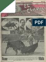 El Clarín (Valencia). 6-10-1928