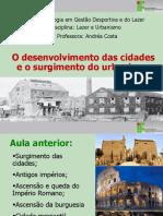 4 Aula - Urbanismo