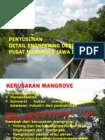 Ekspouse DED Pusat Mangrove Jawa Barat