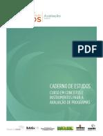 CEGOV - 2015 - MDS Avaliacao Caderno de Estudos (1)