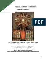 Taller 2 - Cómo Solemnizar La Vigilia Solemne