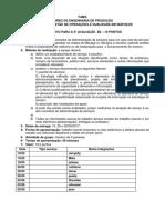 ATIVIDADE PARCIAL B2 Gestaõ de Operações e Qualidade Em Serviços 2017
