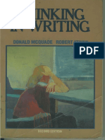 [Donald McQuade; Robert Atwan] Thinking in Writing(BookSee.org)
