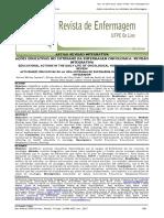 Ações Educativas No Cotidiano Da Enfermagem Oncológica - Revisão Integrativa. Revista de Enfermagem