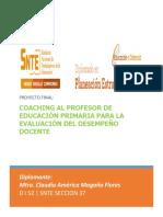 Coaching Al Profesor de Educación Primaria Para La Evaluación Del Desempeño Docente (1)
