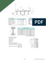 01b. Analisis Struktur Girder PCI 45 Jembatan Rengasdengklok