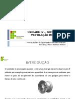 Instalações e Equipamentos Industriais_Unidade IV