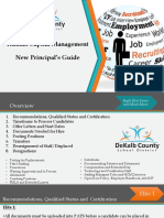 new principal guide hcm