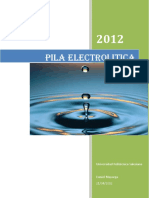 Pila Electrolitica