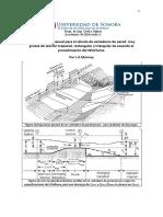 Manual Para El Cálculo de Vertederos de Pared Muy Gruesa de Sección Trapecial