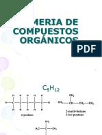 Isomeria de Compuestos Organicos