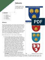 Coat of Arms of Dalmatia