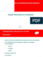 Guide Du Candidat - apply for a job (french)