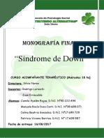 Monografía sindorme de down