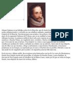 Alonso Quijano es un hidalgo pobre de la Mancha.docx