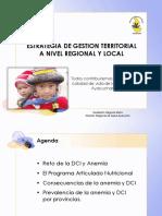 Estrategia de Gestion Territorial a Nivel Regional