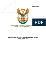 S.a's Mineral Based Fertilizers
