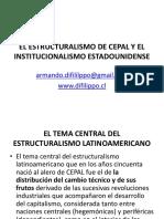 Presentacion ArmandoDiFilippo Estructuralismod CEPAL y El Institucionalimso Estadounidense SS2014