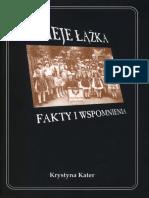 Dzieje Łążka. Fakty í wspomnienia.