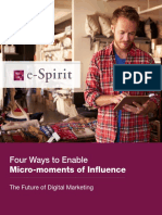 Ways to Enable Micromoments of Influence
