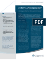 A Case Study - Constellation Energy