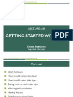 Lecture 03 - Getting Started With QGIS