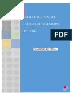Interpretación de Cógigo de Ética Del Colegio de Ingenieros Del Perú