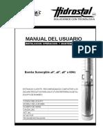 Manual Bomba Sumergible 4 6 8 v.g.04 10