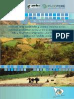 Cc y Agricultura en Peru