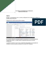 Instructivo Uso de Analitico en Excel 2016
