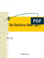 Cliente Serv Uml