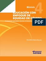 Educación con Enfoque de Equidad de Género (Módulo 4)