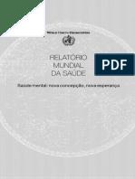 OMS - Relatório Mundial Da Saúde Mental - 2001