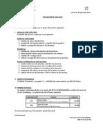 Cotización Nro 020-2017