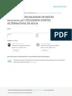 23iv-046 - Potencialidade de Reuso Residencial Utili